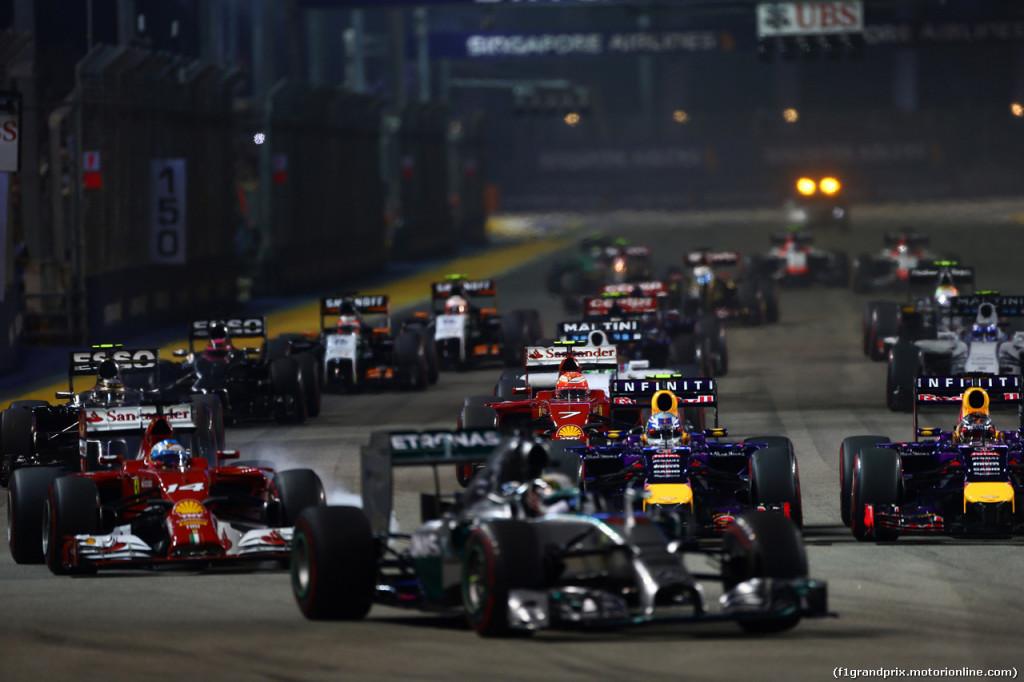 Gran Premio di Singapore 2015, Marina Bay: Anteprima e Orari del Weekend in Sport di