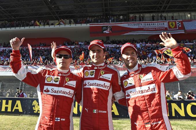 """Ferrari Finali Mondiali – Raikkonen: """"Una giornata molto speciale"""". Vettel: """"Prometto il massimo per i tifosi"""""""
