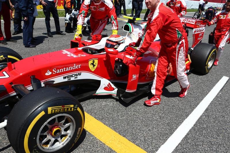 F1 Ferrari, Kimi Raikkonen: