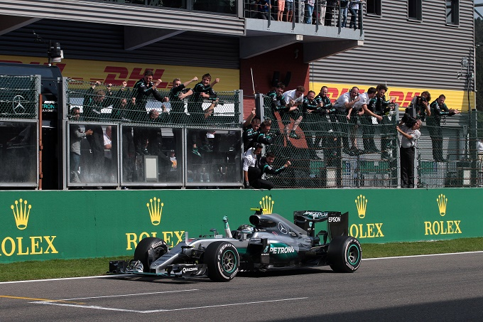 Nel Gp d'Italia vince Nico Rosberg Hamilton secondo, Vettel è sul podio