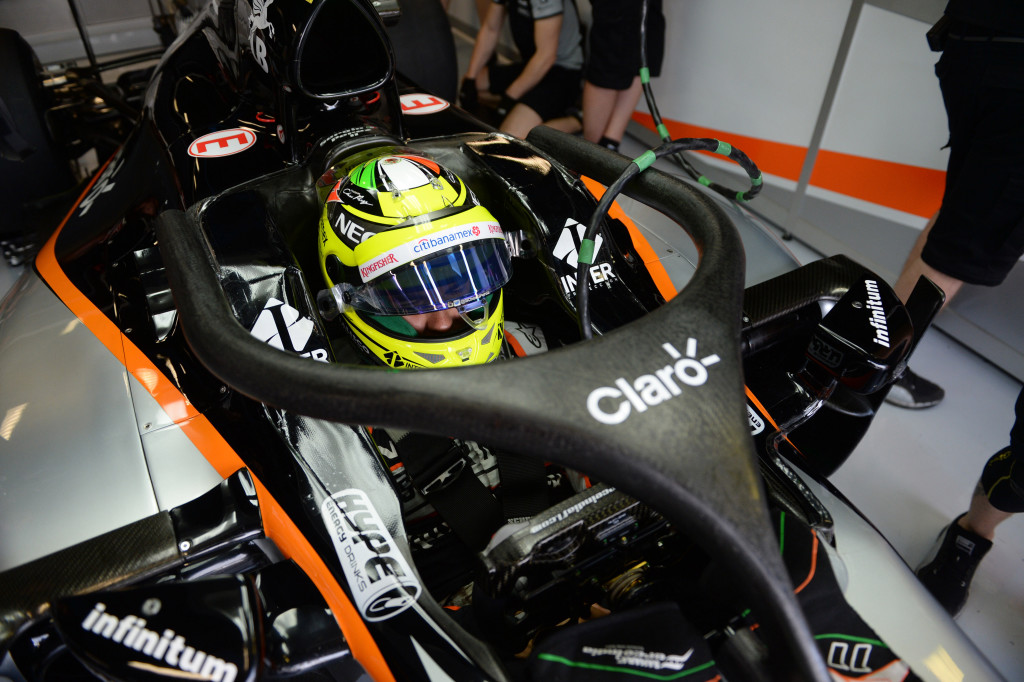 Foto: McLaren, Red Bull e Force India testano Halo