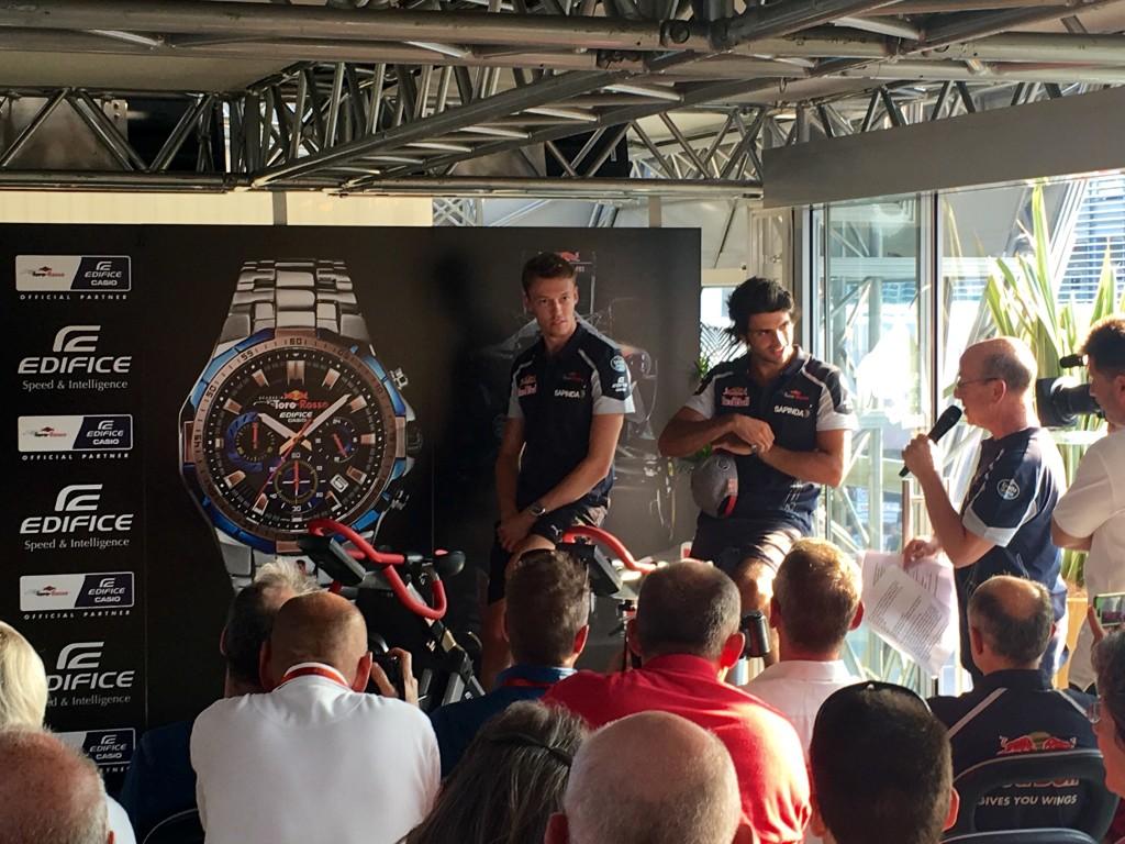 Toro Rosso: CASIO presenta a Monza il primo orologio dedicato al team italiano