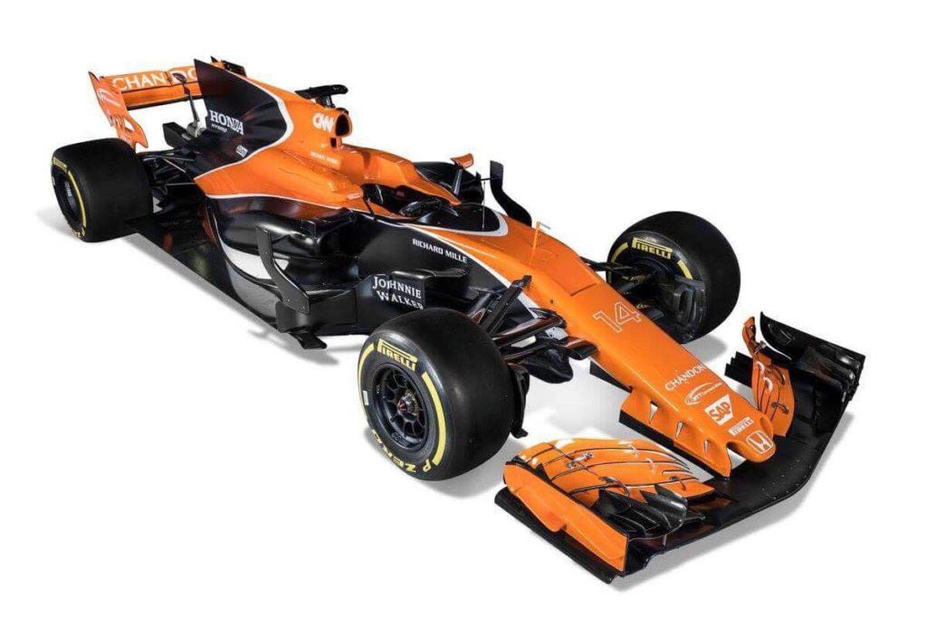 McLaren MCL32, la monoposto F1 per il 2017