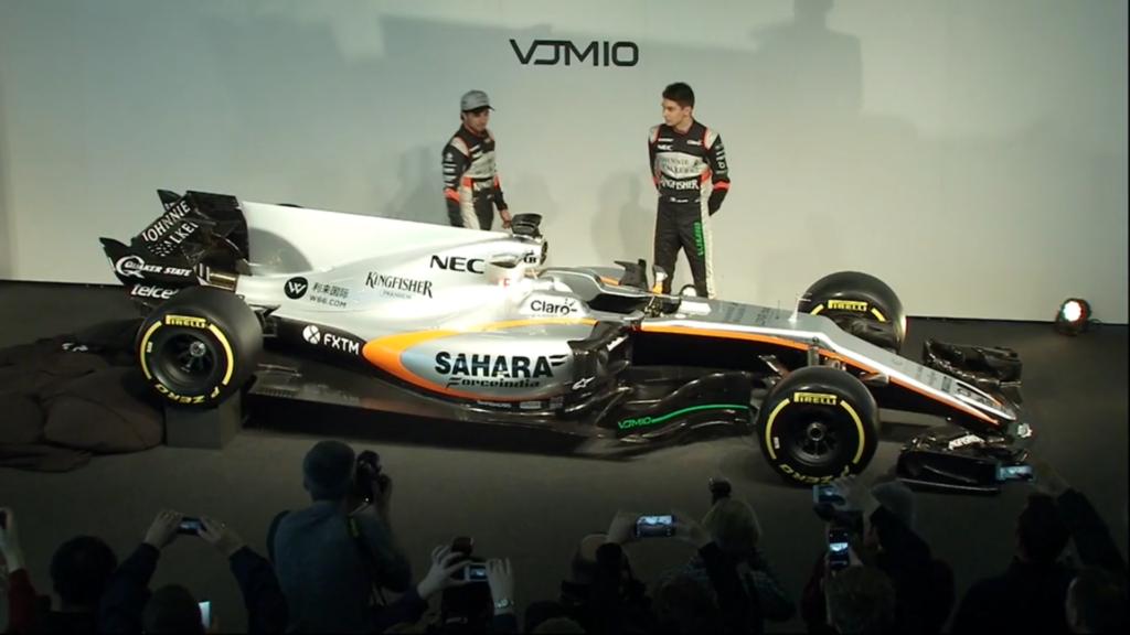 F1 | Presentata a Silverstone la nuova Force India VJM10