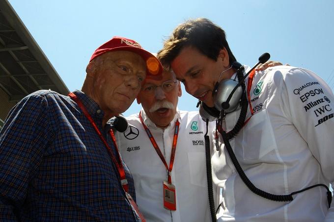 F1 | Mercedes, Wolff e Lauda rinnovano fino al 2020