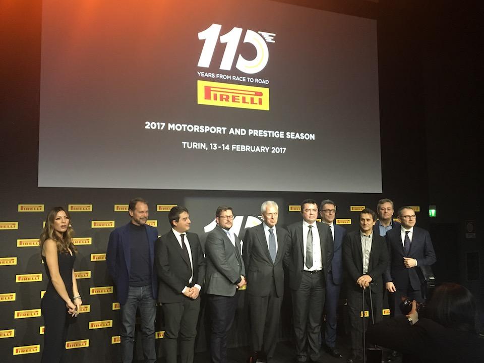 Pirelli festeggia 110 anni nel Motorsport e presenta tutte le novità 2017 [Interviste a Paul Hembery e Mario Isola]