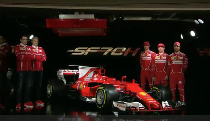 F1 | Ferrari SF70H: presentata la nuova monoposto del Cavallino