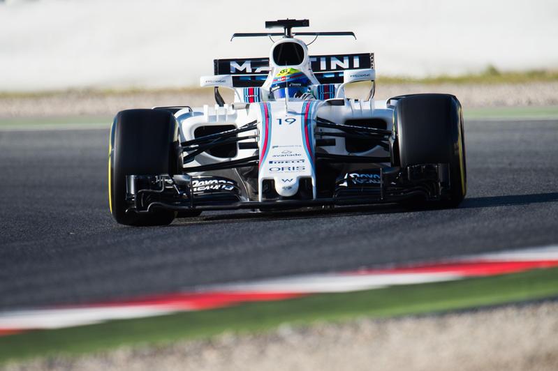 F1 Test Barcellona 2017, Giorno 5: La Williams di Massa riparte in testa