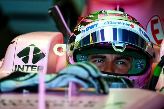 """F1: Perez: """"La nostra macchina è la più lenta in griglia"""""""