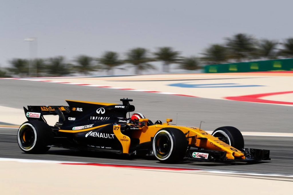f1 renault hulkenberg buone sensazioni al termine. Black Bedroom Furniture Sets. Home Design Ideas