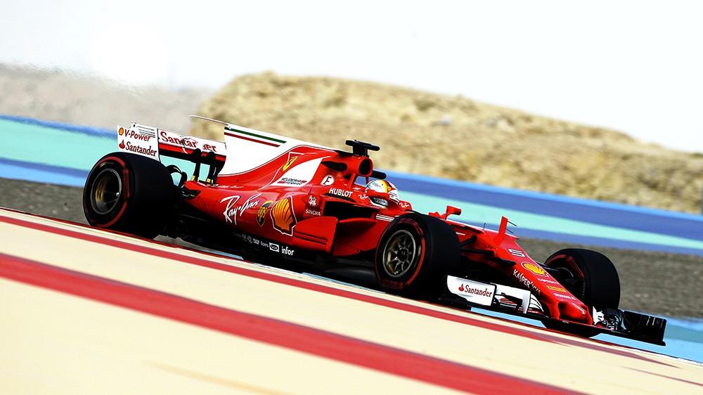 "Vettel: ""Guidare questa Ferrari è sempre un piacere"""