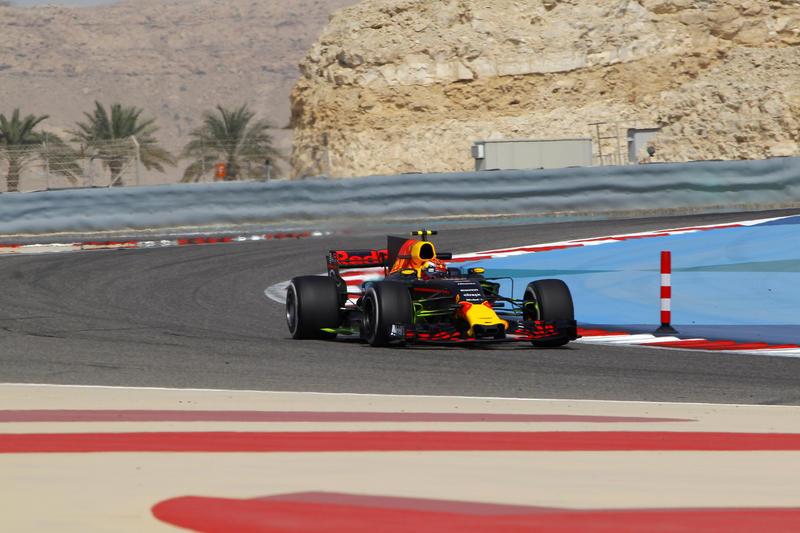 F1 Bahrain, terze libere a Verstappen