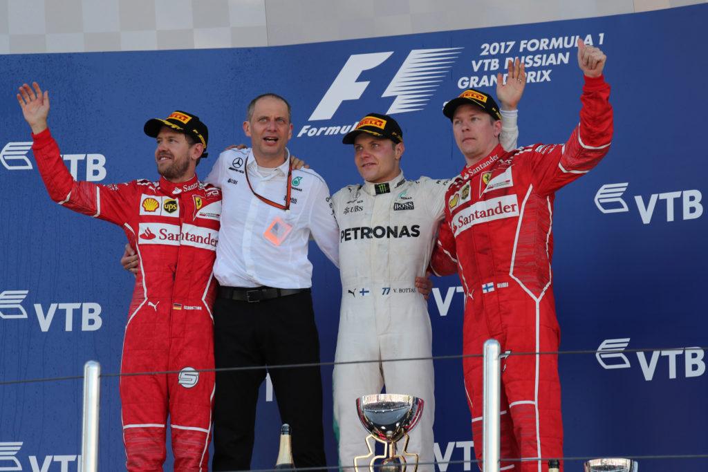 Pagelle GP Russia: Bottas micidiale, Vettel generoso, Raikkonen c'è!