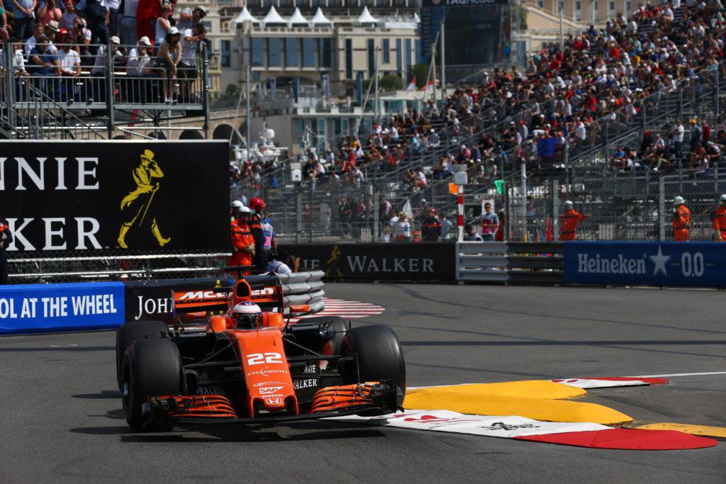 F1 Monaco, Button: