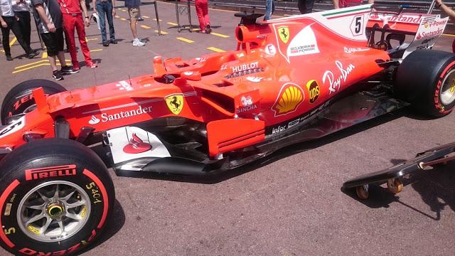 GP Monaco: sulla Ferrari SF70H c'è un pacchetto da altissimo carico aerodinamico