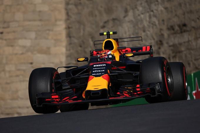 F1: Gran Premio Arzebaigian, Verstappen (Red Bull), miglior tempo prime libere