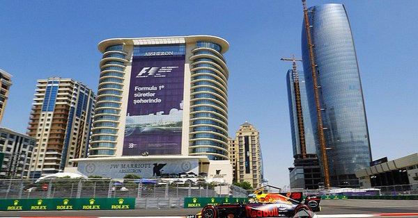 F1 GP Azerbaijan, Prove Libere 1: Red Bull al comando, Verstappen il più veloce