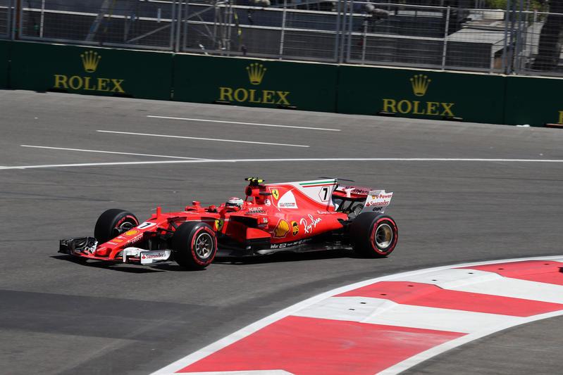 F1, GP Azerbaijan - Raikkonen: