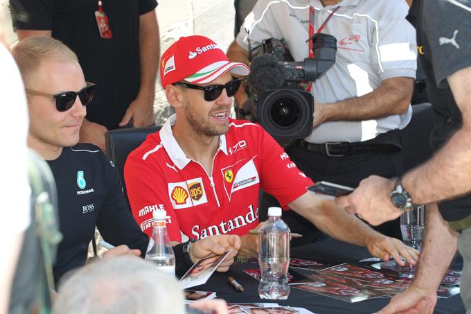 Vettel il trascinatore: