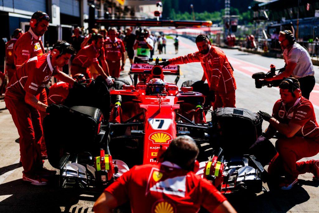 F1 GP Silverstone, Kimi Raikkonen: