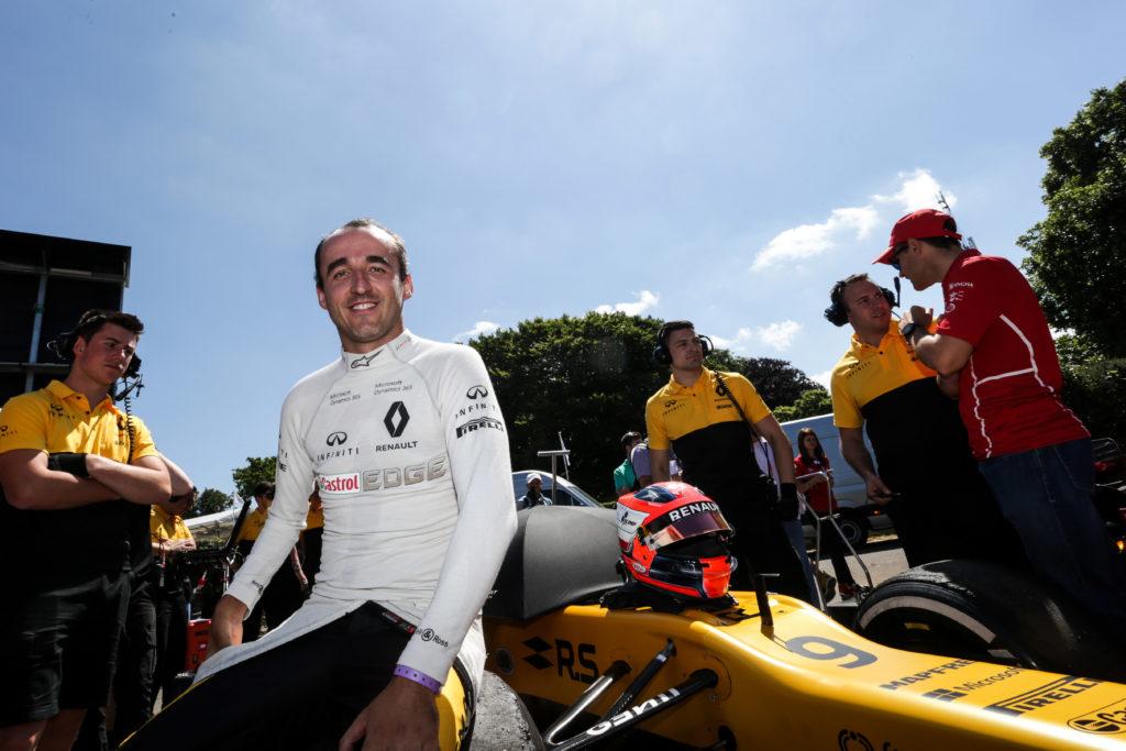 F1 | Kubica di nuovo in pista per i test in Ungheria
