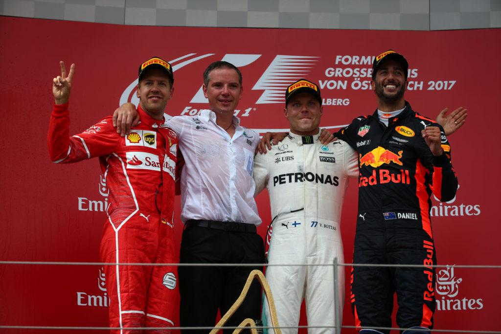Pagelle GP Austria – Bottas è Flash, Vettel c'è, Ricciardo è una certezza