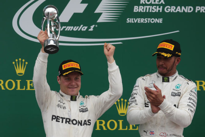 F1: Hamilton, contento per 3/o posto Bottas