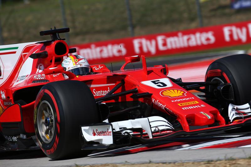 F1 GP Ungheria, Prove Libere 3: Ferrari al comando con Vettel davanti a Raikkonen
