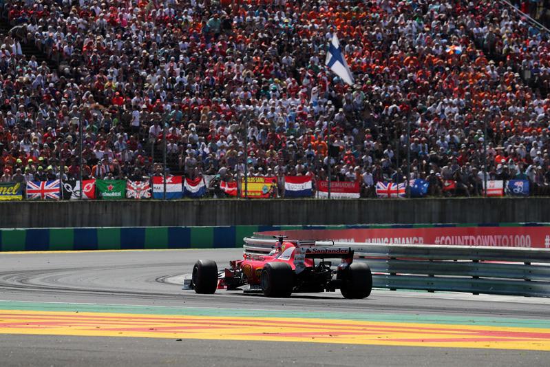 F1 GP Ungheria: Trionfo Ferrari, Vettel vince davanti a Raikkonen