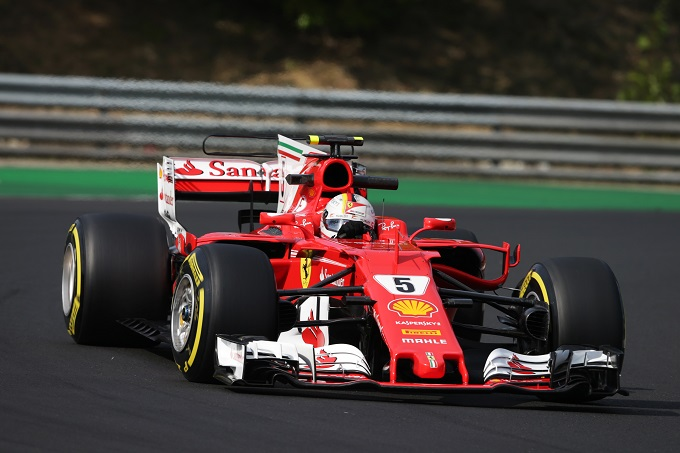 F1 | Test Hungaroring, day 2: Ferrari al top con Vettel
