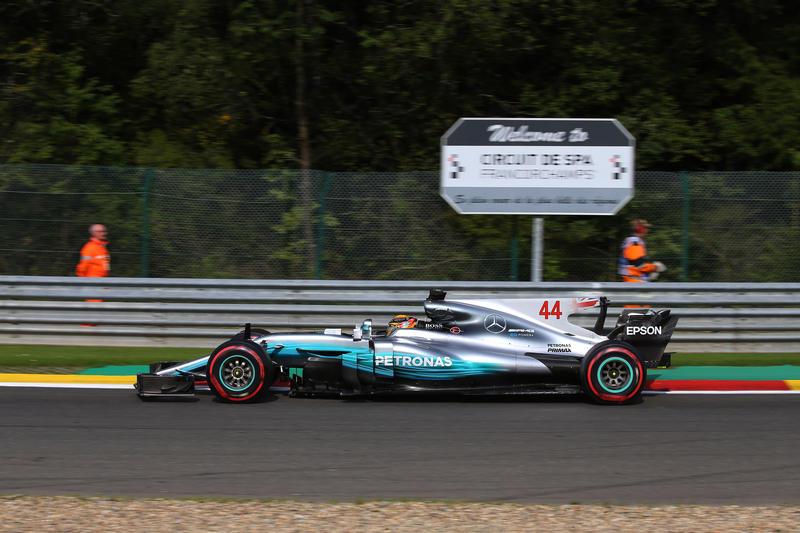 F1 GP Belgio, Prove Libere 2: Hamilton chiude il venerdì al top