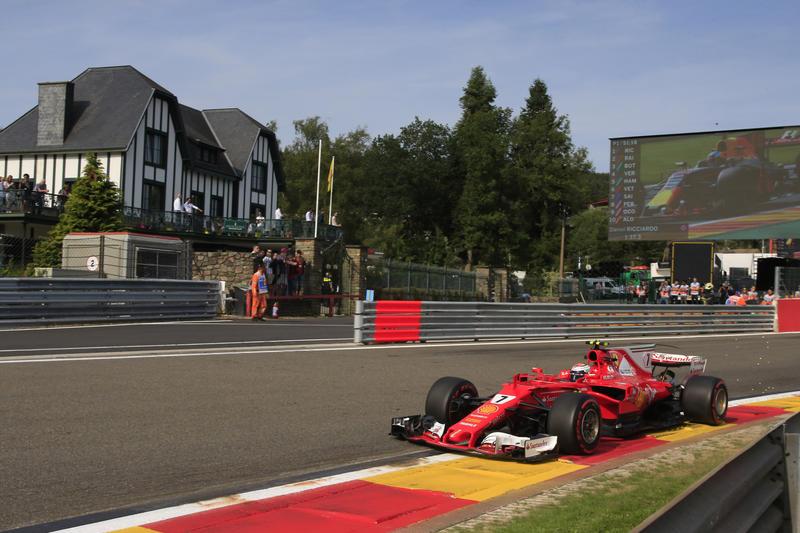"F1 | Raikkonen: ""Mi diverto su questa pista"""