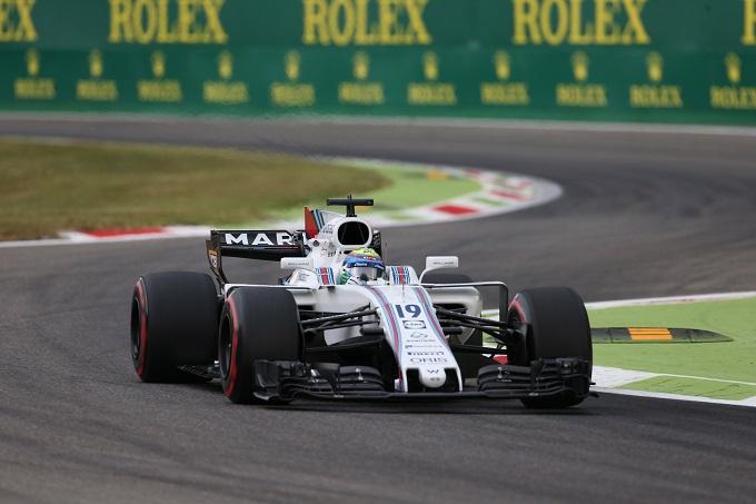 F1 | Libere GP Italia, Williams centra la Top Ten con il solo Massa