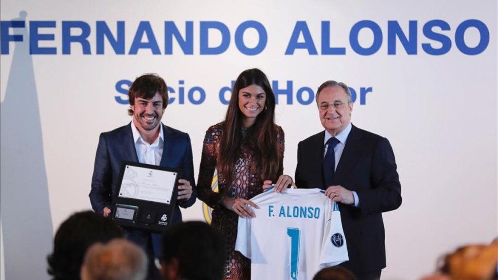 Il Real Madrid consola Fernando Alonso