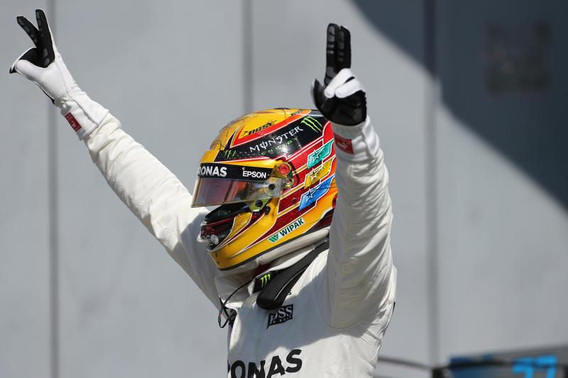 """F1   Hamilton: """"Finalmente in testa, è una bella sensazione"""""""