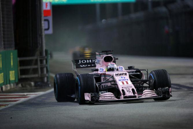F1 | Force India porta degli aggiornamenti a Sepang