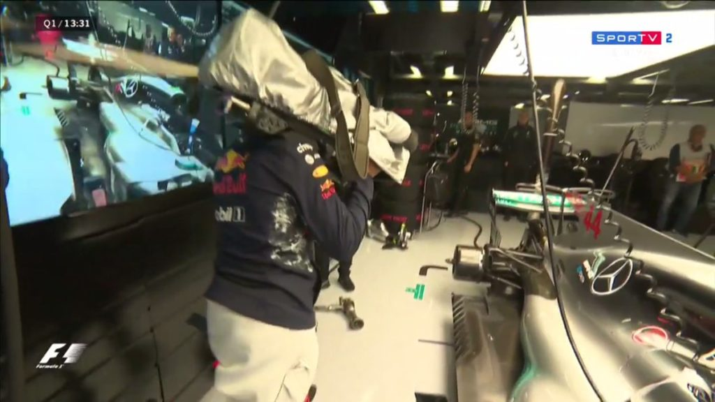 F1 | Ricciardo, Ocon e Verstappen cameramen improvvisati (FOTO)