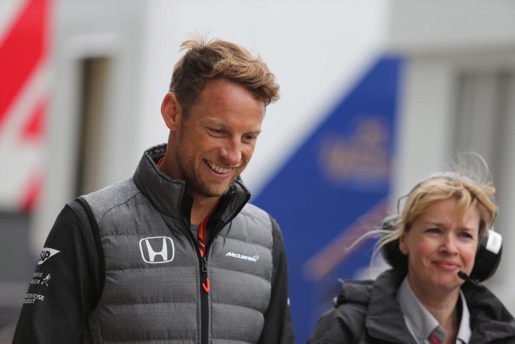 """F1   Button: """"È bello vedere tre team lottare per vincere"""""""