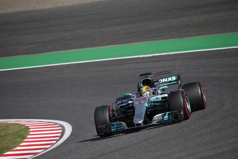 F1 GP Giappone: Hamilton vince, Vettel si ritira