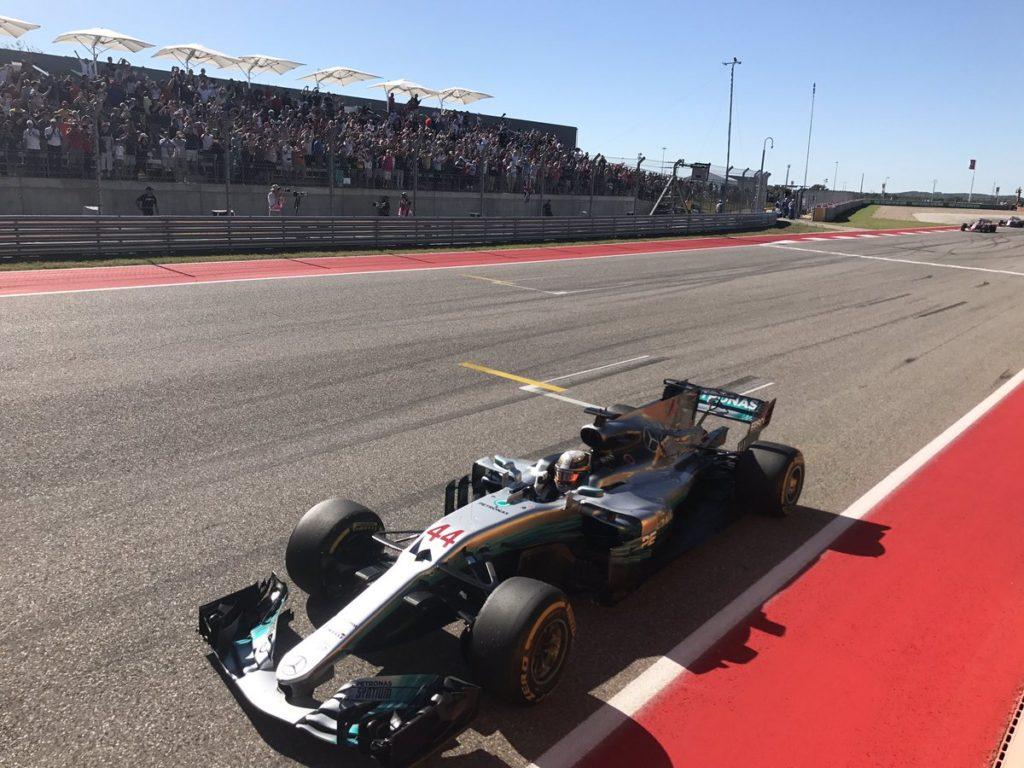 F1 GP Stati Uniti: Hamilton vincente, Mercedes festeggia il 4° Titolo Costruttori