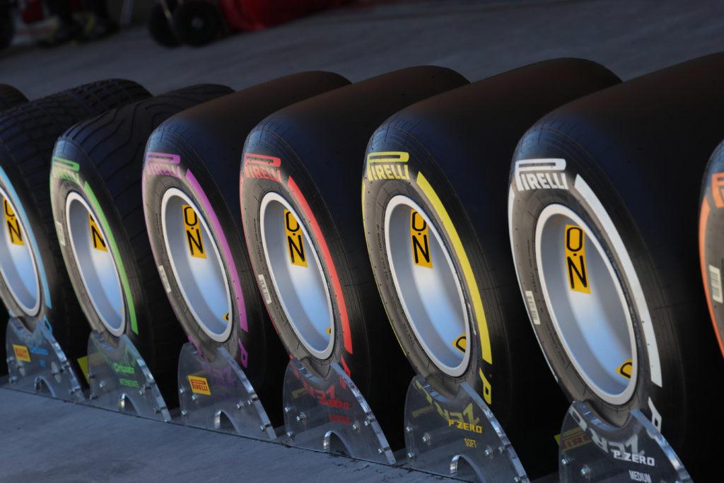 Pirelli presenta 7 mescole per la stagione 2018