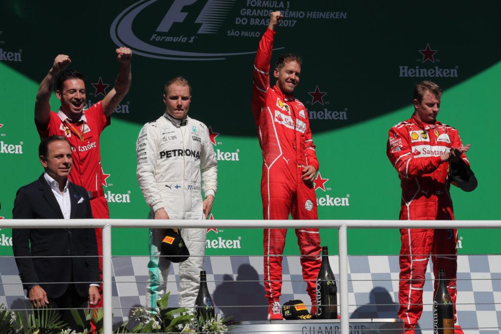 Pagelle GP Brasile – Vettel fa ballare la samba a Bottas, Kimi mura uno scatenato Hamilton