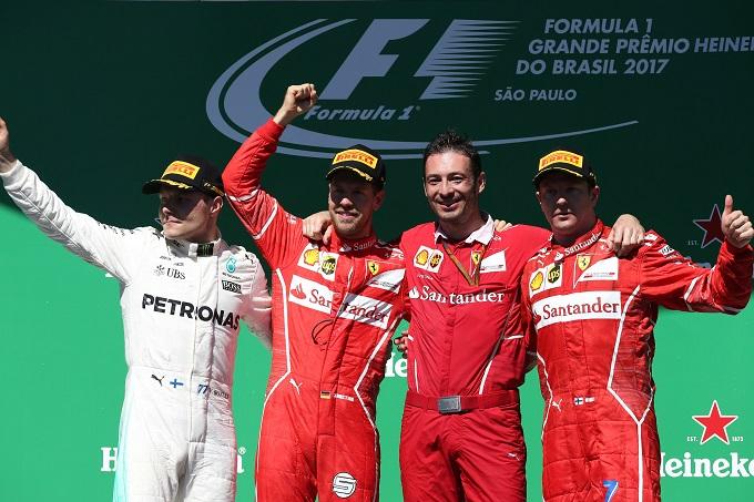 F1 | Pirelli, Sebastian Vettel vince in Brasile con un solo pit stop