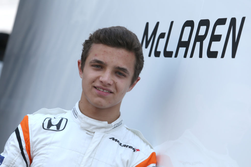 Formula 2   Lando Norris correrà ad Abu Dhabi con il team Campos