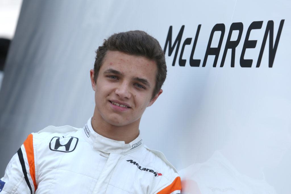 F1 | McLaren, Lando Norris terzo pilota nel 2018: attesa l'ufficialità in Brasile