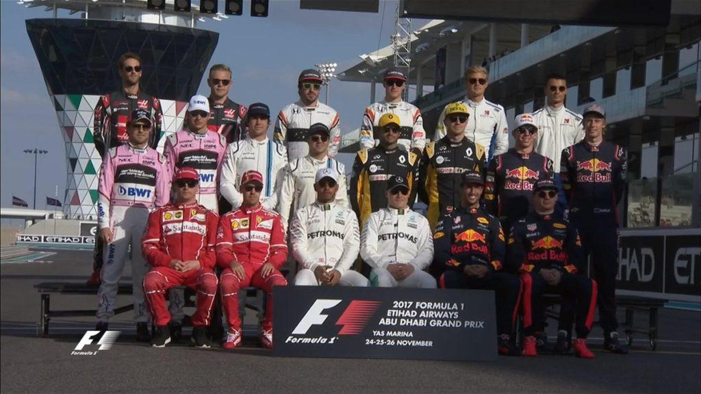 F1 GP Abu Dhabi: La Griglia di Partenza