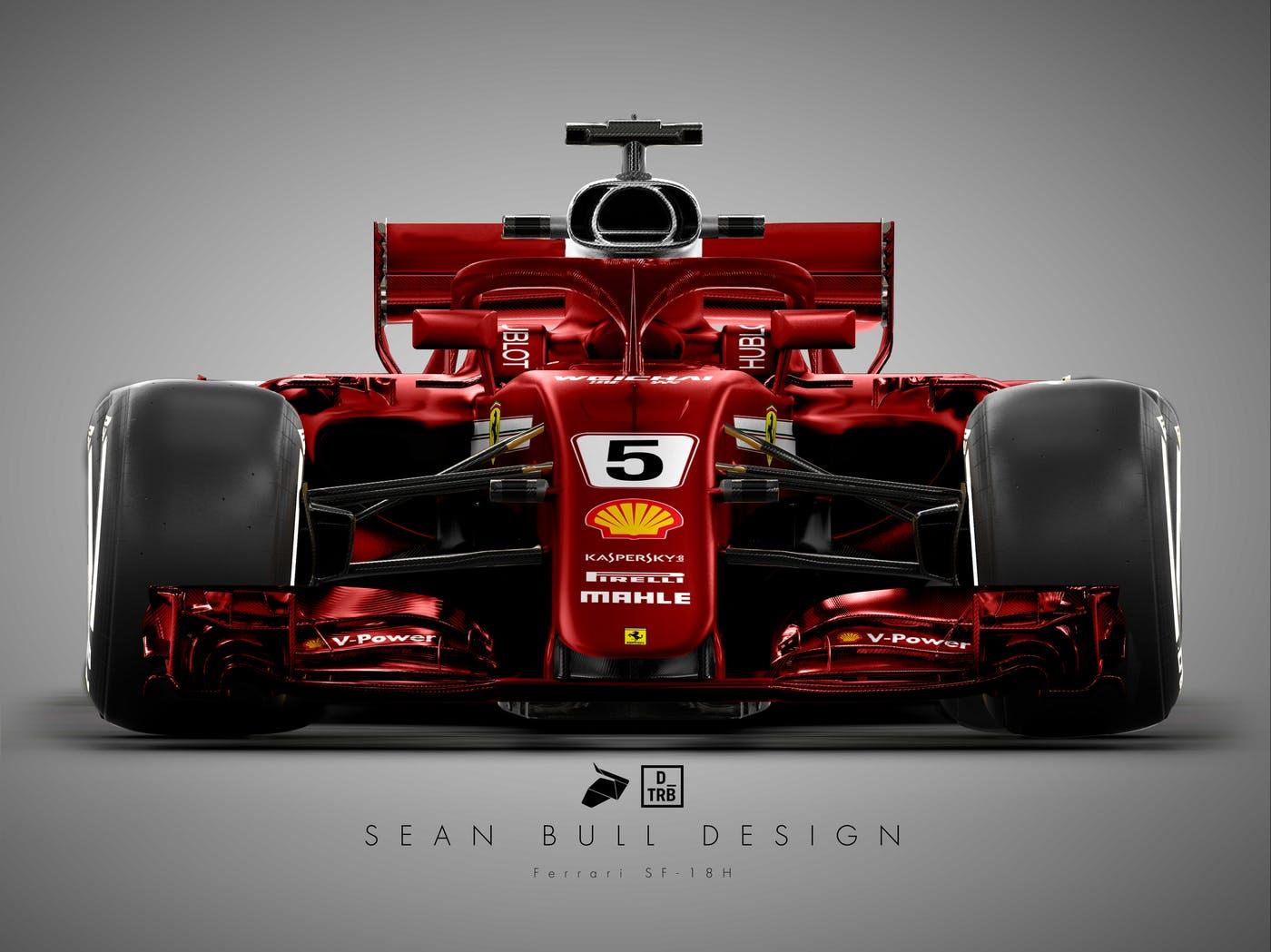 Formula 1 Ferrari Ritorno Al Passato Per La Livrea 2018
