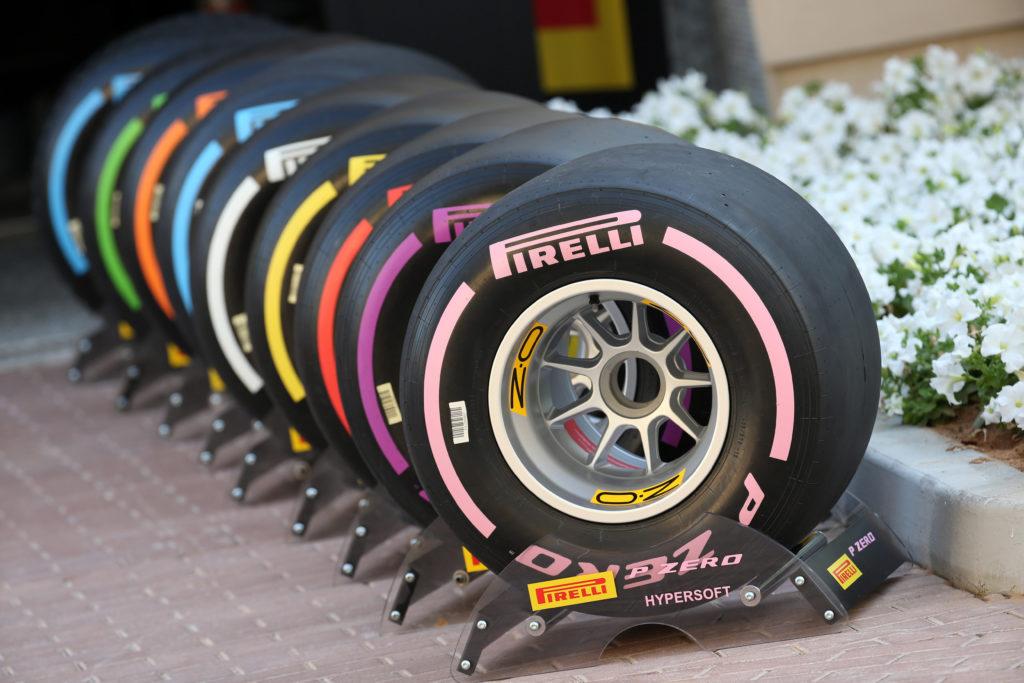 F1 | Pirelli comunica le mescole scelte per i primi tre GP del 2018