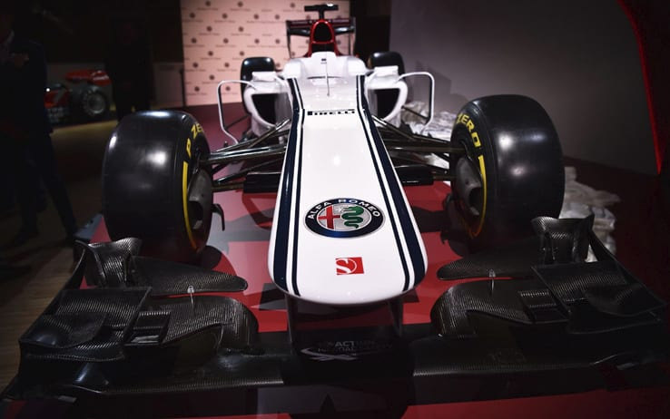 Formula 1 | Alfa Romeo Sauber, il concept della livrea 2018 esposto all'interno del Museo di Arese