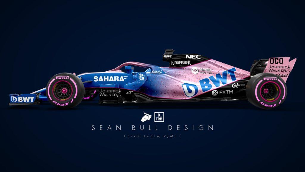 Formula 1 | Force India, nel 2018 ancora spazio al rosa?